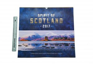 Spirit of Scotland 2017 calendar